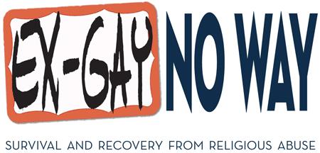 Ex-Gay No Way, by Dr  Jallen Rix